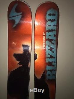 High Performance Mens Skis 2015 Blizzard Regulator 186cm Marker Jester Binding