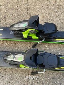 K2 AMP Charger 174cm 122-74-106 r=16m Speed Rocker Skis withMarker MX14 Bindings
