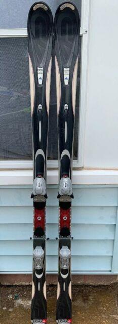 K2 Apache Blackhawk Skis Size 174 Cm With Marker Mod 10.0 Bindings
