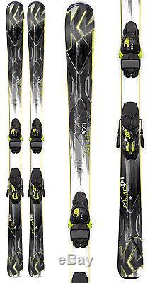 K2 Amp 80 XTI Skis with Marker MXC 12 TC Bindings Mens Sz 184cm
