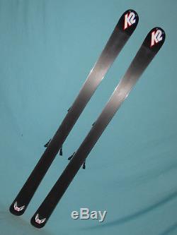 K2 Apache Recon All-Mtn skis 160cm with Marker MOD 12.0 adjustable ski bindings