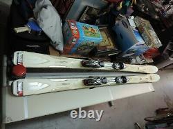 K2 Apache Recon All-Mtn skis 181cm with Marker Titanium 12.0 Piston ski bindings