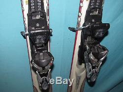 K2 Apache Recon skis 181cm with Marker MOD 12.0 Ti IBX adjustable ski bindings