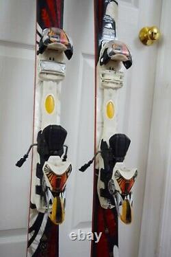 K2 Burnin Luv Skis Size 153 CM With Marker Bindings