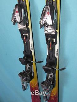 K2 Burnin' Luv TNine T9 women's Skis 160cm with Marker Titanium 12.0 bindings