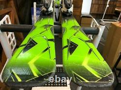 K2 Charger 174 cm Skis + Marker 12 Bindings Winter Sports Fun Snow Outdoor