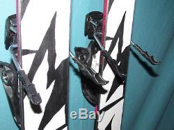 K2 Empress women's freestyle skis 159cm with JIB Rocker with Marker Squire bindings
