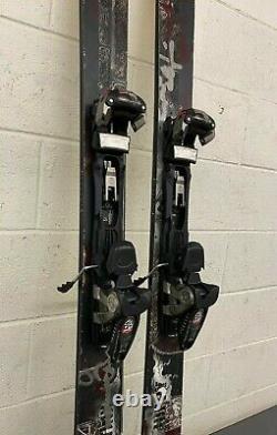 K2 Hippy Stinx 179cm 128-95-118 Twin-Tip Back Country Skis Marker Baron Bindings