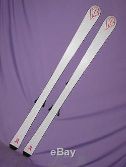 K2 Just Cause women's skis 160cm with Marker MOD 11.0 IBX adjustable bindings