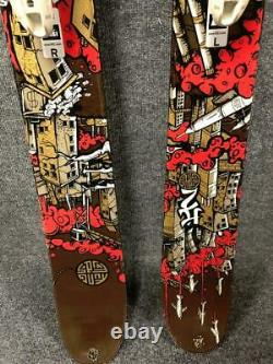 K2 Kung Fujas Pep Fujas Pro Model 179cm Skis with Marker Griffon Bindings