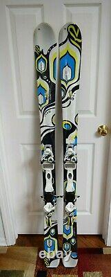 K2 Lotta Luv Skis Size 156 CM With Marker Bindings