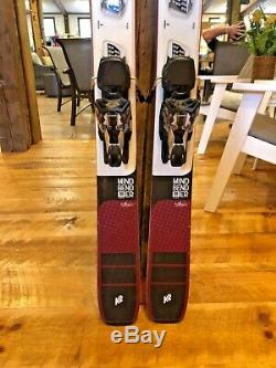 K2 Mindbender 90C Alliance 2020 DEMO Ski 163cm Marker Griffon TCX Bindings