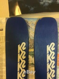 K2 Mindbender 99 Ti Skis 2020 184cm with Marker Griffon Binding, prototype