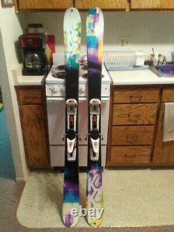 K2 MissBehaved Skis withMarker Duke 16.0 (BCT) Bindings