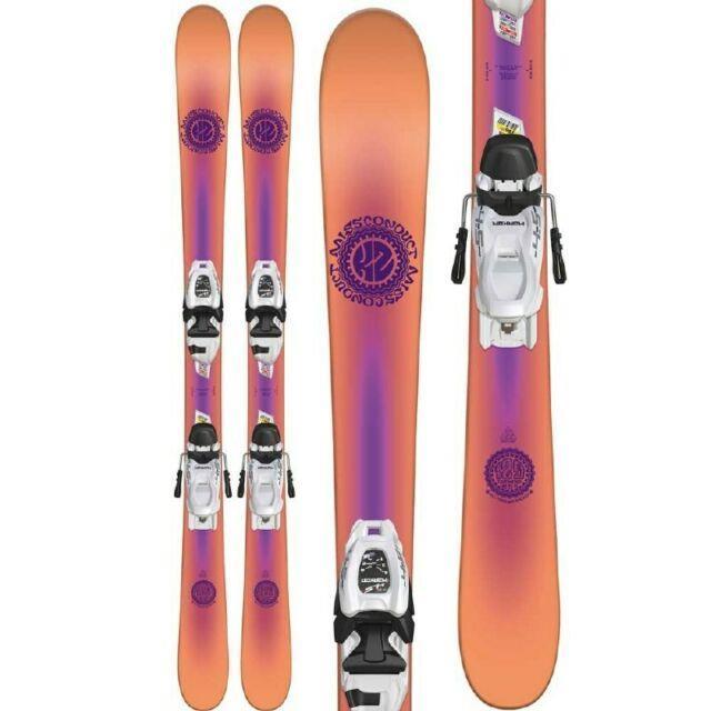 K2 Missconduct Jr 149cm Skis With Marker Ft 7.0 Ski Bindings