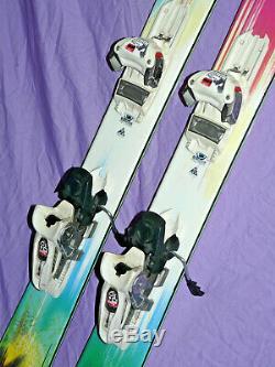 K2 Missbehaved Women's Twin Tip Powder Skis 149cm with Marker GRIFFON Bindings