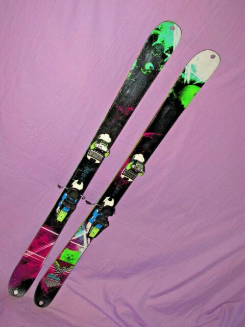 K2 Missdemeanor All Mtn Twin Tip Freestyle Skis 149cm With Marker Squire Bindings