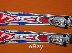K2 Omni Sport 124cm Beginner/Int Short SKIS Marker M900 Seedpoint DEMO Bindings