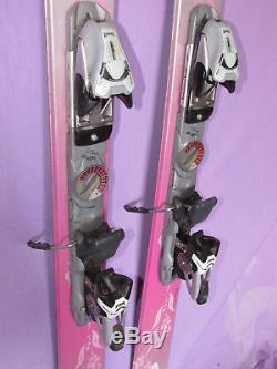 K2 Phat Luv TNine womens POWDER skis 153cm with Marker 1200 Speedpoint bindings