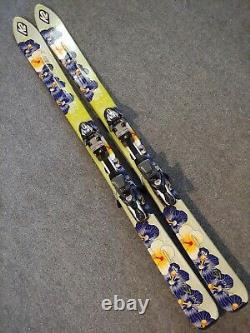 K2 Phat Luv Womens Girls 160cm Skis Marker M 1100 Titanium Bindings