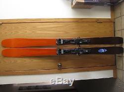 K2 Pinnacle 105 skis (177cm) with Marker Duke Bindings (perfect quiver of 1 ski)