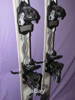K2 Potion 76 Ti women's skis 142cm with Marker ER3 10 adjustable ski bindings