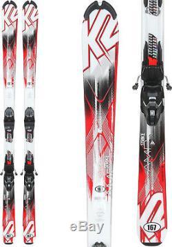 K2 Strike Skis with Marker M2 Quikclik Bindings Mens Sz 167cm