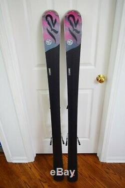 K2 Super Free Skis Size 146 CM With Marker Bindings