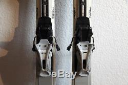 K2 T9 True Luv Women's Downhill Skis 153 cm. Marker Mod 10.0 Bindings