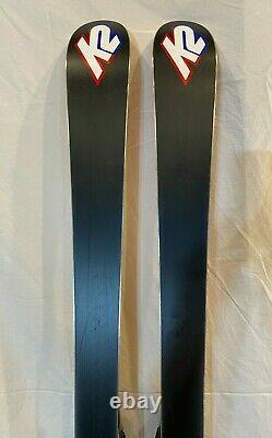 K2 TNine Burnin' Luv 160cm 115-68-99 Women's Skis withMarker MOD 11.0 Bindings