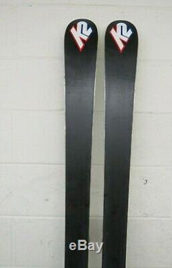 K2 TNine Lotta Luv 167cm 119-78-105 Women's Skis withMarker 11.0 Ti Bindings LOOK