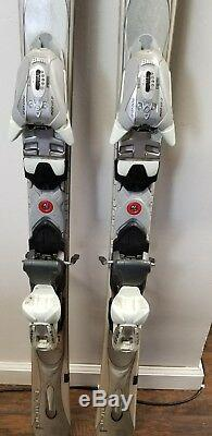 K2 TNine Myste LUV women's skis with Marker Mod 10.0 ski bindings