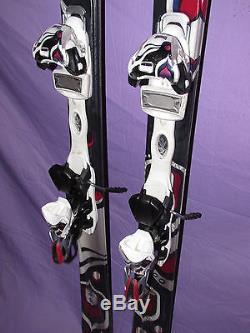 K2 TNine T9 Free Luv Women's Skis 142cm with Marker 11.0 Integrated adj Binding