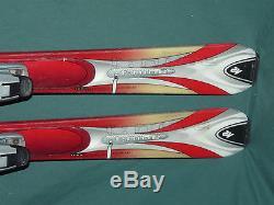 K2 TNine X Women's All-Mtn Skis 160cm with Marker M7.2 Bindings T9 T-9 Ladies