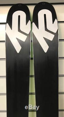 K2 Wayback 96 2017 Ex-Demo Skis 177cm & Marker F12 Tour EPF Bindings