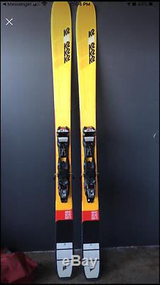K2 mindbender 108ti with Marker Tour Bindings