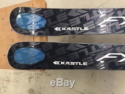 Kastle FX 94 Skis with Marker Lord Bindings