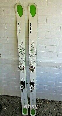 Kastle MX 108 skis 187cm with Marker Jester 16 adjustable Demo ski bindings