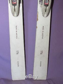 Kastle MX 78 mx78 skis 176cm with Marker Griffon 13 DEMO adjustable ski bindings