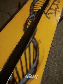 Liberty Bamboo Backbone Double Helix Powder 190cm Skis Marker Jester 16 Bindings