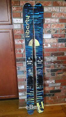 Liberty Helix skis 167cm with Marker Griffon bindings