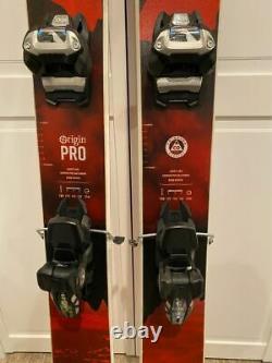 Liberty Skis Origin Pro Alpine Skis with Marker Griffon Bindings