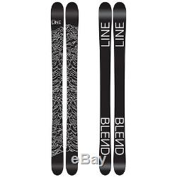 Line Blend 185cm Skis with Marker M11.0 TC EPS Black / Silver Ski Bindings NEW
