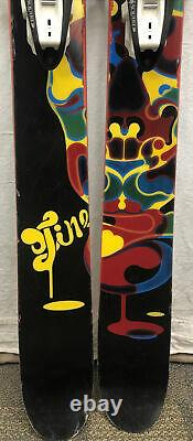 Line Blend Powder Skis 183cm with Marker Squire Bindings