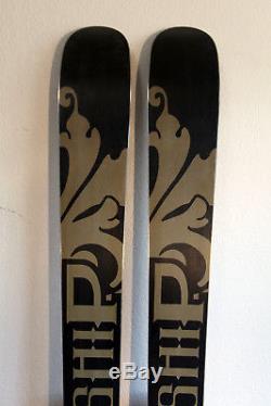 Line Mothership Twin Tip Skis 185 cm. Marker Baron Alpine Touring AT Bindings