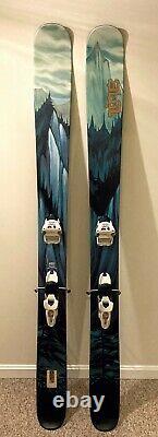Line Prophet 130 Adult Freeride Powder Skis 186cm with Marker Jester Bindings