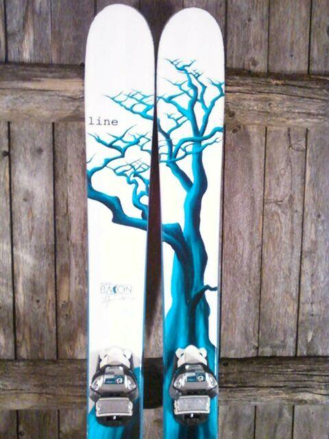 Line Sir Francis Bacon Skis 172 Cm With Marker Griffon Bindings. 2014 Year