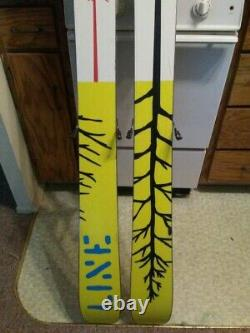 Line Sir Francis Bacon Skis with Marker Jester 16.0 Bindings