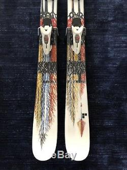 Line Sir Francis Bacon Twin Tip Powder Skis 178 cm. Marker Griffon Bindings