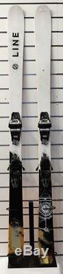 Line Supernatural 86 2018 Ex-Demo Skis 179cm & Marker Griffon 13 Bindings